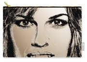 Hilary Swank In 2007 Carry-all Pouch
