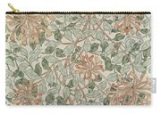 Honeysuckle Design Carry-all Pouch by William Morris