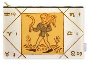 Horoscope Types, Engel, 1488 Carry-all Pouch