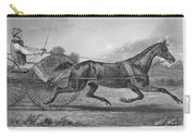Horse Racing, 1857 Carry-all Pouch