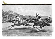 Horse Racing, 1900 Carry-all Pouch