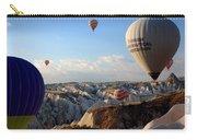 Hot Air Balloons Over Cappadocia Carry-all Pouch by RicardMN Photography