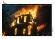 House On Fire Carry-all Pouch by Photo Researchers, Inc.
