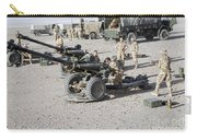 Howitzer 105mm Light Guns Are Lined Carry-all Pouch