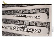 Hundred Dollar Bills Carry-all Pouch