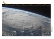 Hurricane Felix Over The Caribbean Sea Carry-all Pouch