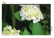 Hydrangea Blooming Carry-all Pouch
