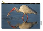 Ibis With Shrimp Carry-all Pouch