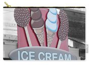Ice Cream Sign Carry-all Pouch