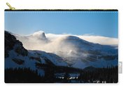 Illuminated Winter Landscape By The Sun Carry-all Pouch