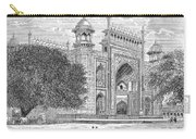 India: Taj Mahal Carry-all Pouch