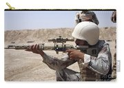Iraqi Army Sergeant Sights Carry-all Pouch