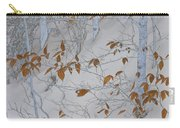 Ironwood In The Snow Carry-all Pouch