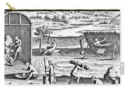 Iroquois Village, 1664 Carry-all Pouch