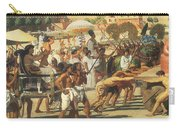 Israel In Egypt Carry-all Pouch by Sir Edward John Poynter