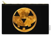 Jack-o-lantern Moon Carry-all Pouch