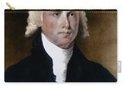 James Madison, 4th American President Carry-all Pouch by Photo Researchers