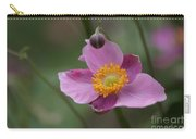 Japanese Anemone Carry-all Pouch