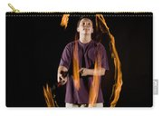 Juggling Fire Carry-all Pouch