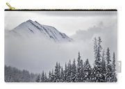 Kananaskis Country In Winter, Peter Carry-all Pouch