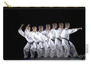 Karate Expert Carry-all Pouch by Ted Kinsman