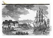 King Georges War, 1745 Carry-all Pouch