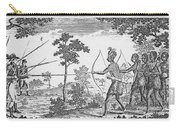 King Philips War, 1675 Carry-all Pouch
