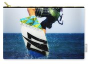 Kitesurfer Carry-all Pouch by Stelios Kleanthous