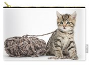 Kitten With Yarn Carry-all Pouch