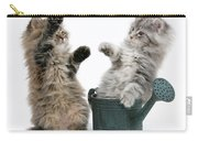 Kittens And Watering Can Carry-all Pouch