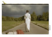Lady On The Road Carry-all Pouch