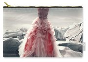 Lady On The Rocks Carry-all Pouch by Joana Kruse