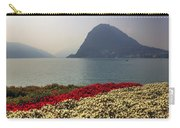 Lake Lugano - Monte Salvatore Carry-all Pouch by Joana Kruse