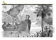 Landing Of Leif Ericsson Carry-all Pouch
