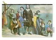Landing Of The Pilgrims At Plymouth Carry-all Pouch