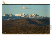 Landscape Of The Highlands And The Cordillera Real. Republic Of Bolivia. Carry-all Pouch