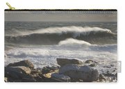 Large Waves Near Pemaquid Point On The Coast Of Maine Carry-all Pouch