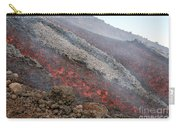 Lava Flow During Eruption Of Mount Etna Carry-all Pouch