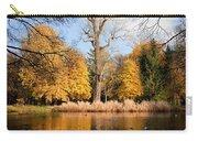 Lazienki Park Autumn Scenery Carry-all Pouch