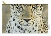 Leopard Panthera Pardus Female Carry-all Pouch