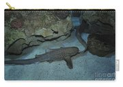 Leopard Shark Courting, Blue Zoo Carry-all Pouch