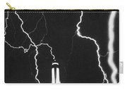 Lightning Strikes Empire State Carry-all Pouch