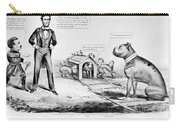 Lincoln: Cartoon, 1864 Carry-all Pouch