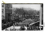 Lincolns Funeral Procession, 1865 Carry-all Pouch by Photo Researchers