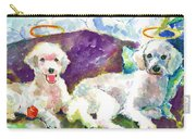 Little Angels Poodles Carry-all Pouch