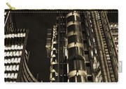 Lloyds Building London In Gold Carry-all Pouch