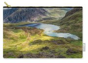 Llyn Idwal Lake Carry-all Pouch by Adrian Evans