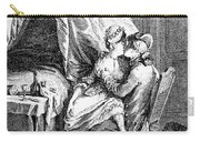 Lovers, 18th Century Carry-all Pouch
