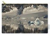 Luigi Peak Wiencke Island Antarctic Carry-all Pouch by Colin Monteath