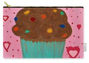 M And M Cupcake Carry-all Pouch